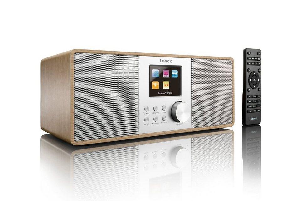 lenco internet dab radio mit farbdisplay. Black Bedroom Furniture Sets. Home Design Ideas