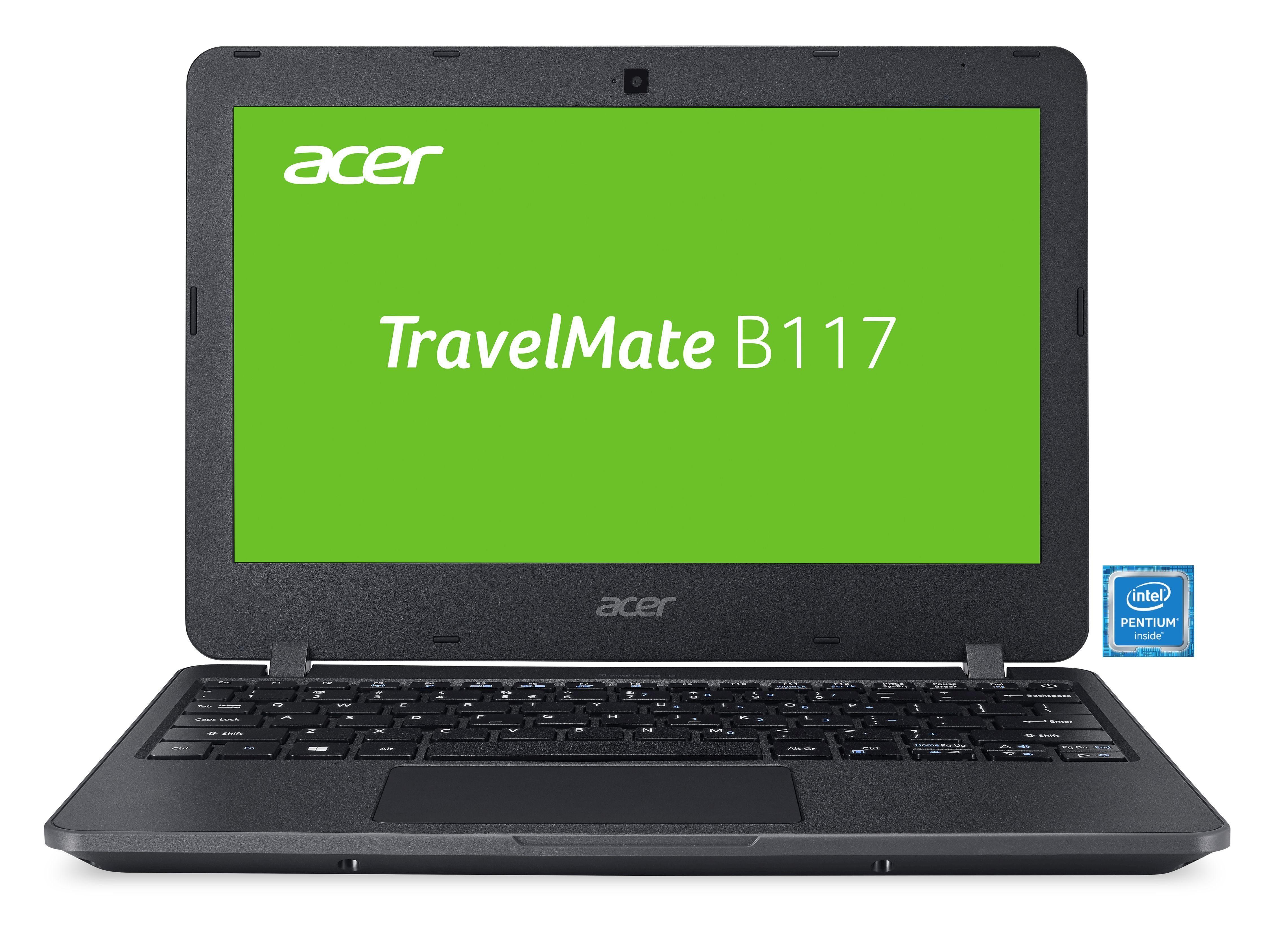 "ACER TravelMate B117 Notebook »Intel Pentium, 29,46cm (11,6""), 128 GB SSD, 4 GB«"