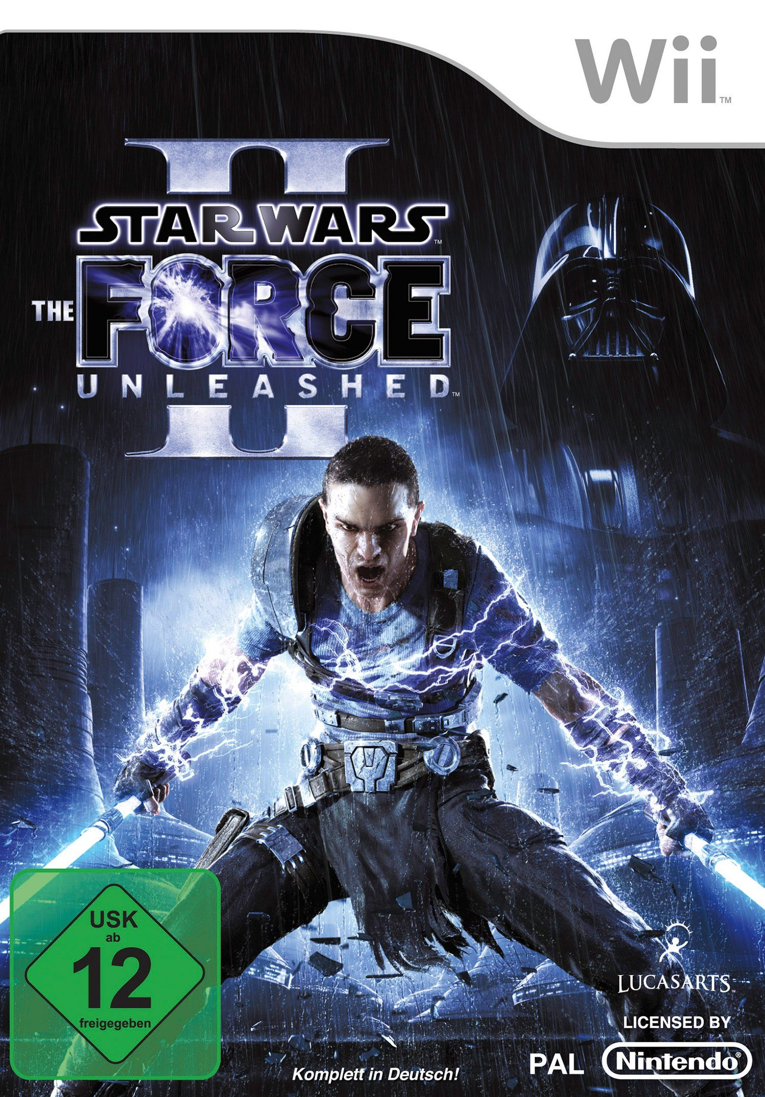 DISNEY Software Pyramide - Nintendo Wii Spiel »Star Wars: The Force Unleashed 2«