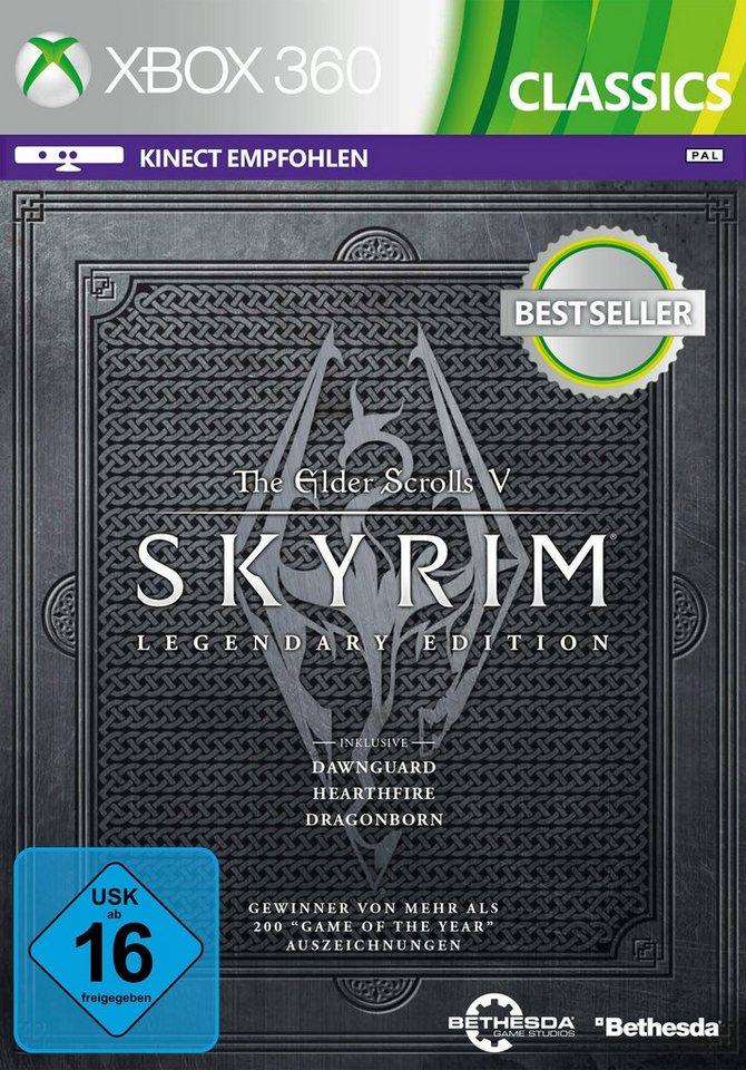 ZeniMax Software Pyramide - Xbox 360 Spiel »The Elder Scrolls V: Skyrim - Legendary Edition«