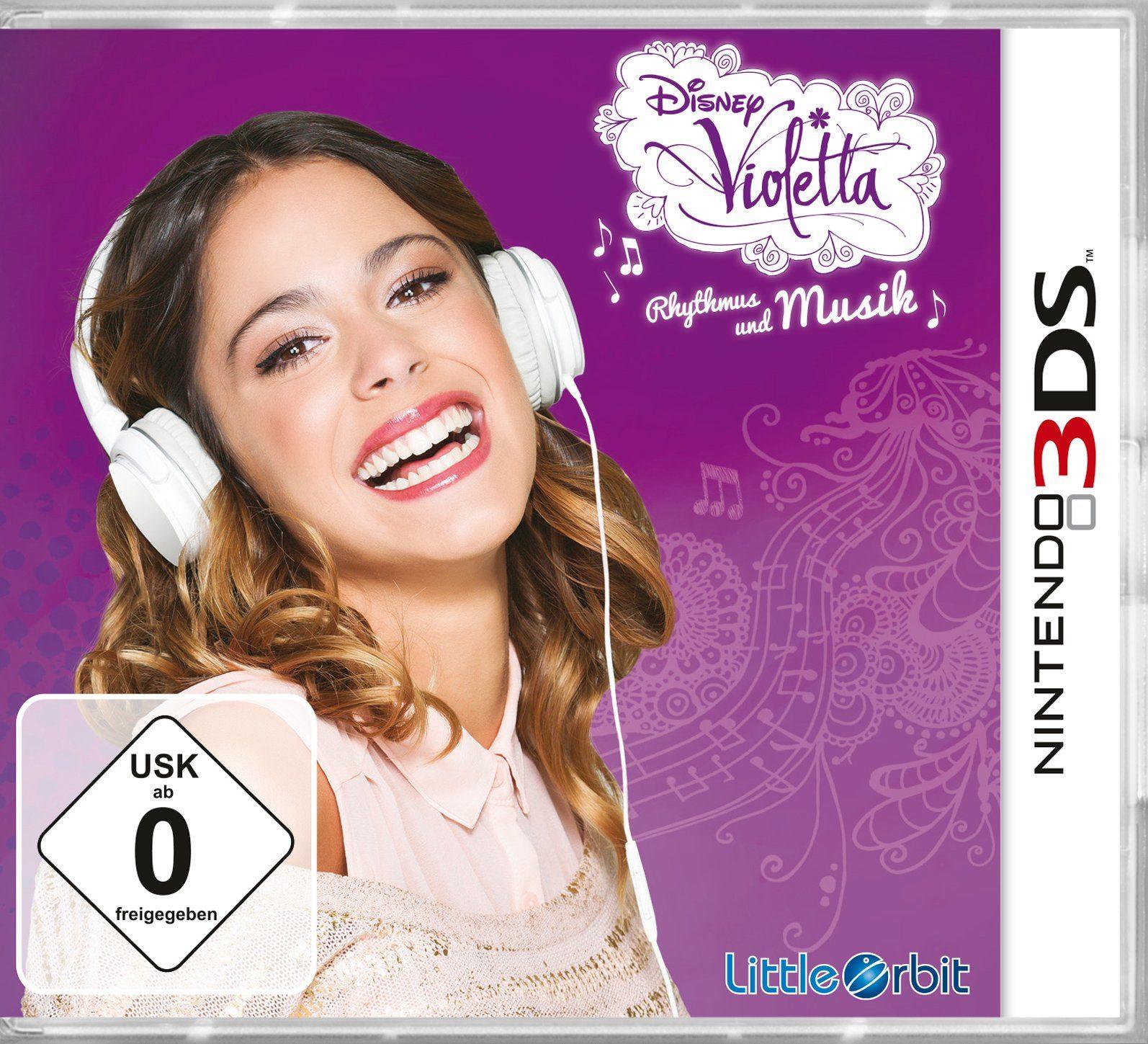 BANDAI NAMCO Software Pyramide - Nintendo 3DS Spiel »Violetta: Rhythmus & Musik«