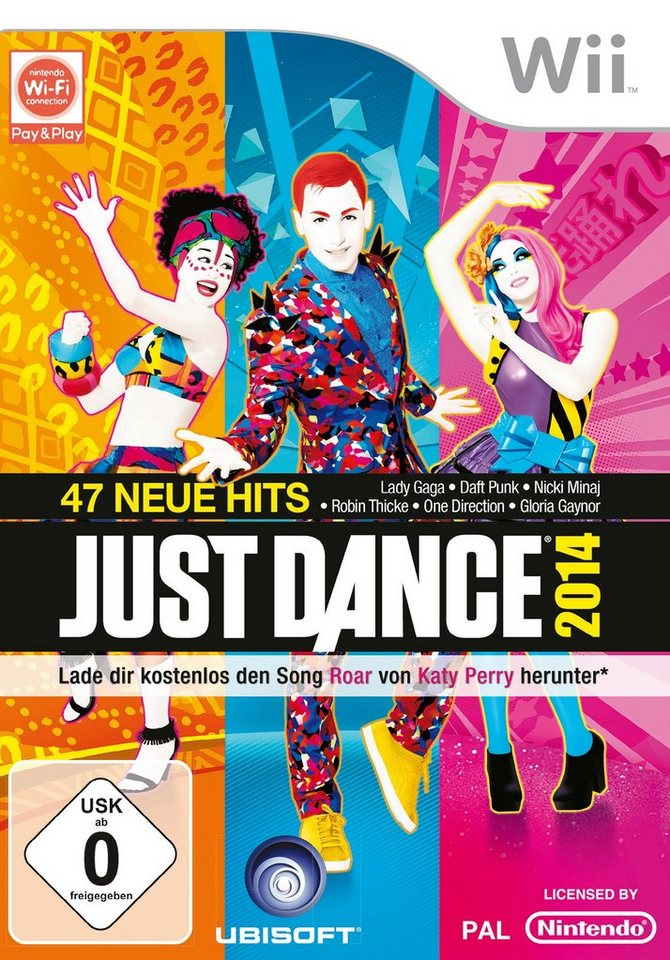 UBISOFT Software Pyramide - Nintendo Wii Spiel »Just Dance 2014«