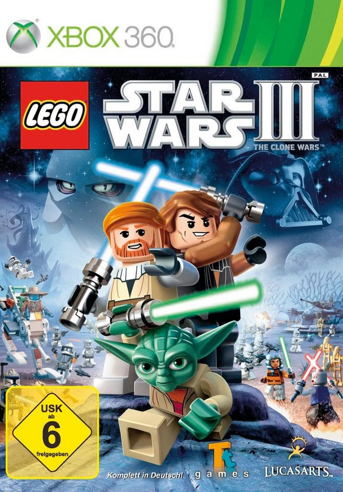 DISNEY Software Pyramide - Xbox 360 Spiel »LEGO Star Wars 3: The Clone Wars«