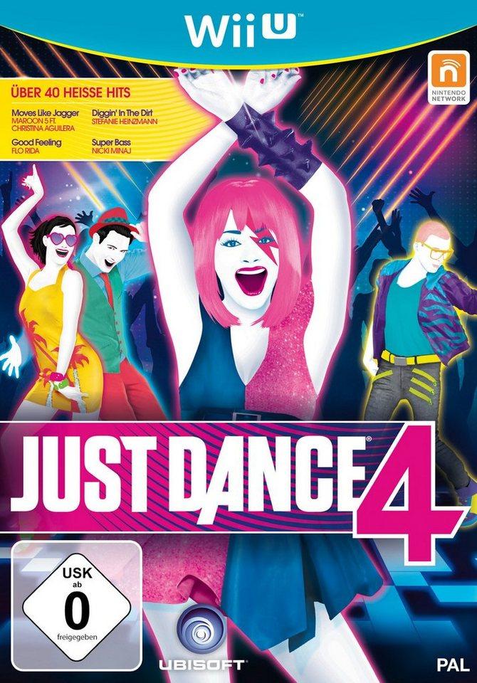 UBISOFT Software Pyramide - Nintendo WiiU Spiel »Just Dance 4«