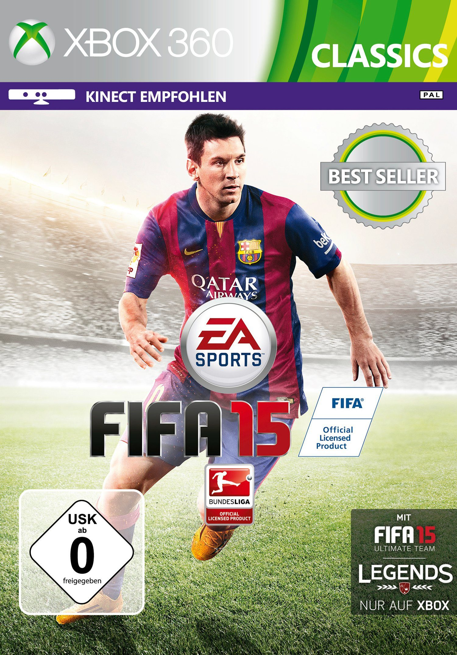 Electronic Arts Software Pyramide - Xbox 360 Spiel »Fifa 15«