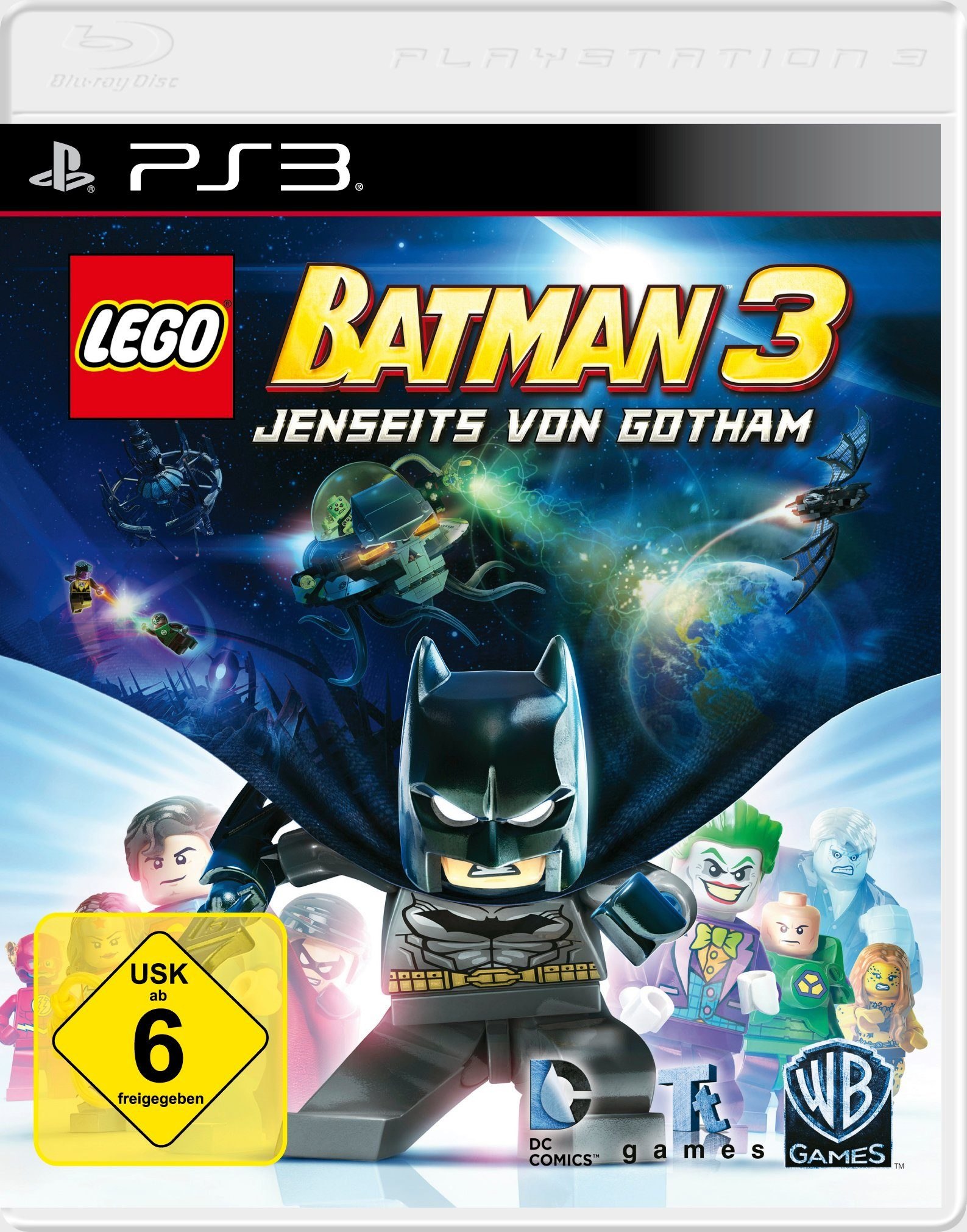 Warner Games Software Pyramide - Playstation 3 Spiel »LEGO Batman 3«