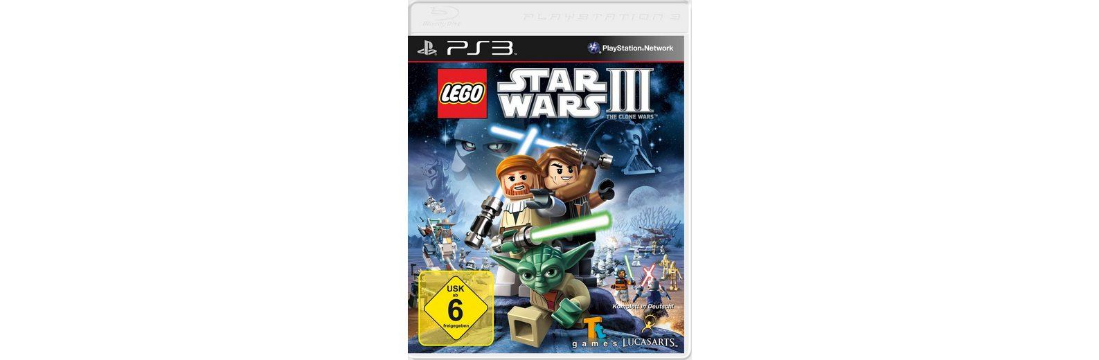 DISNEY Software Pyramide - Playstation 3 Spiel »LEGO Star Wars 3: The Clone Wars«