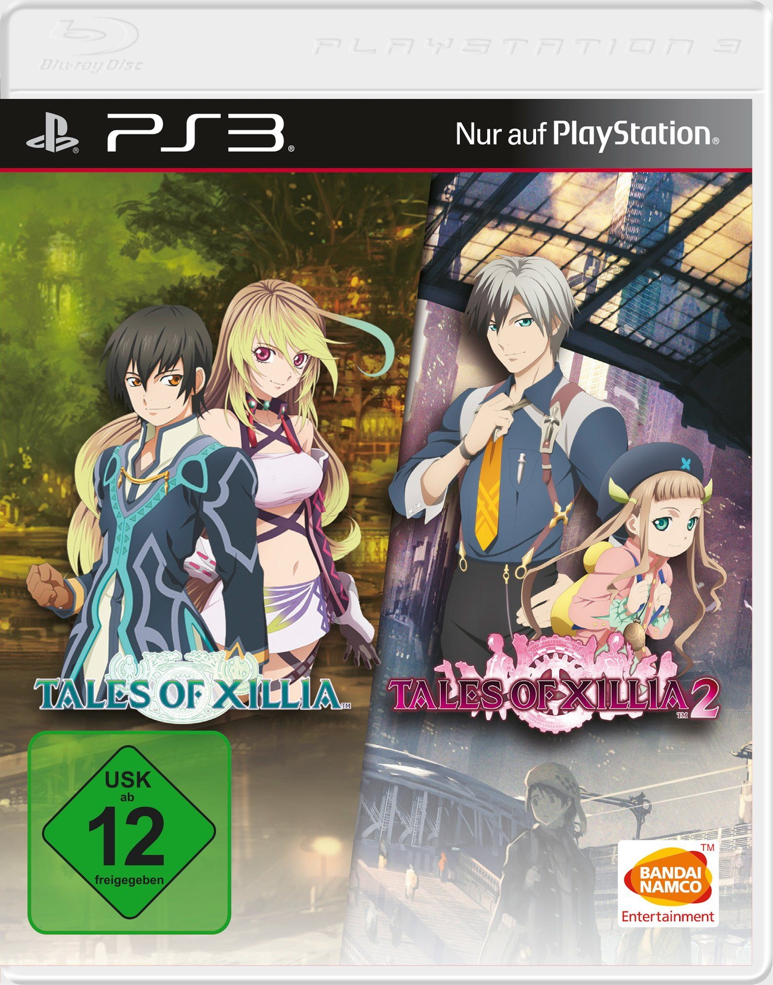 BANDAI NAMCO Software Pyramide - Playstation 3 Spiel »Tales of Xillia 1+2«