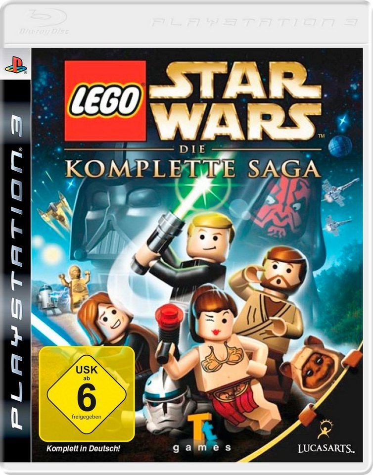 DISNEY Software Pyramide - Playstation 3 Spiel »LEGO Star Wars: Die komplette Saga«