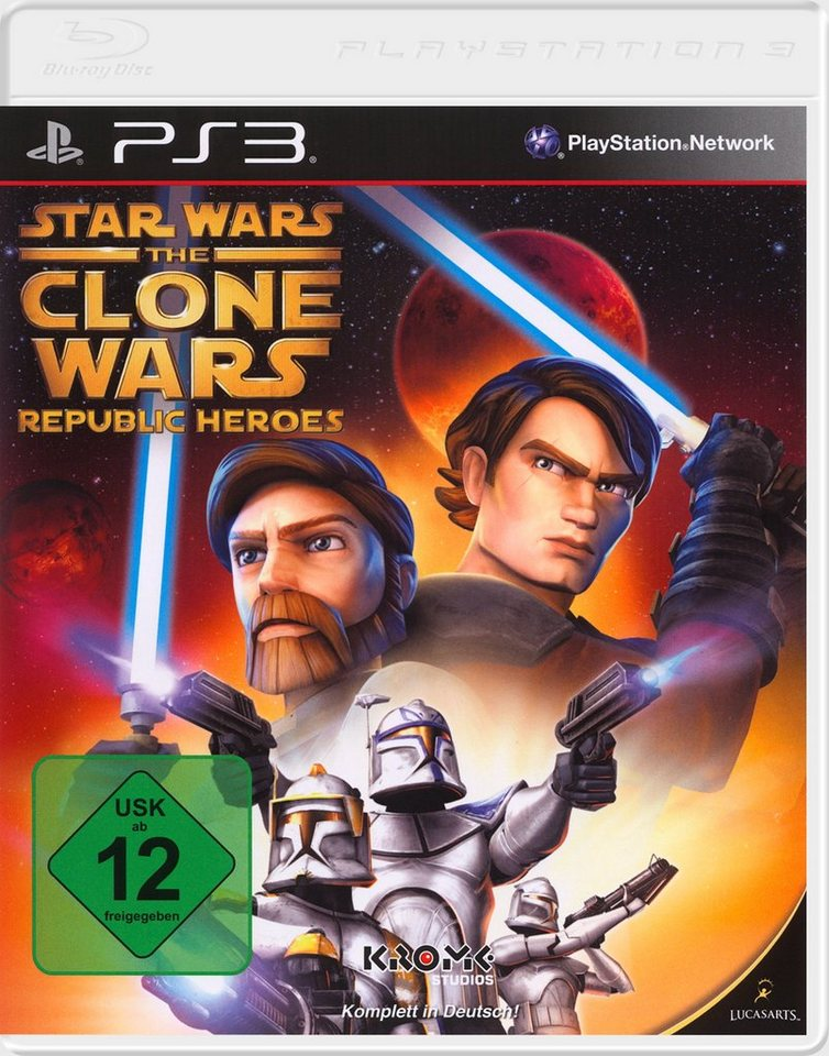 DISNEY Software Pyramide - Playstation 3 Spiel »Star Wars The Clone Wars: Republic Heroes«