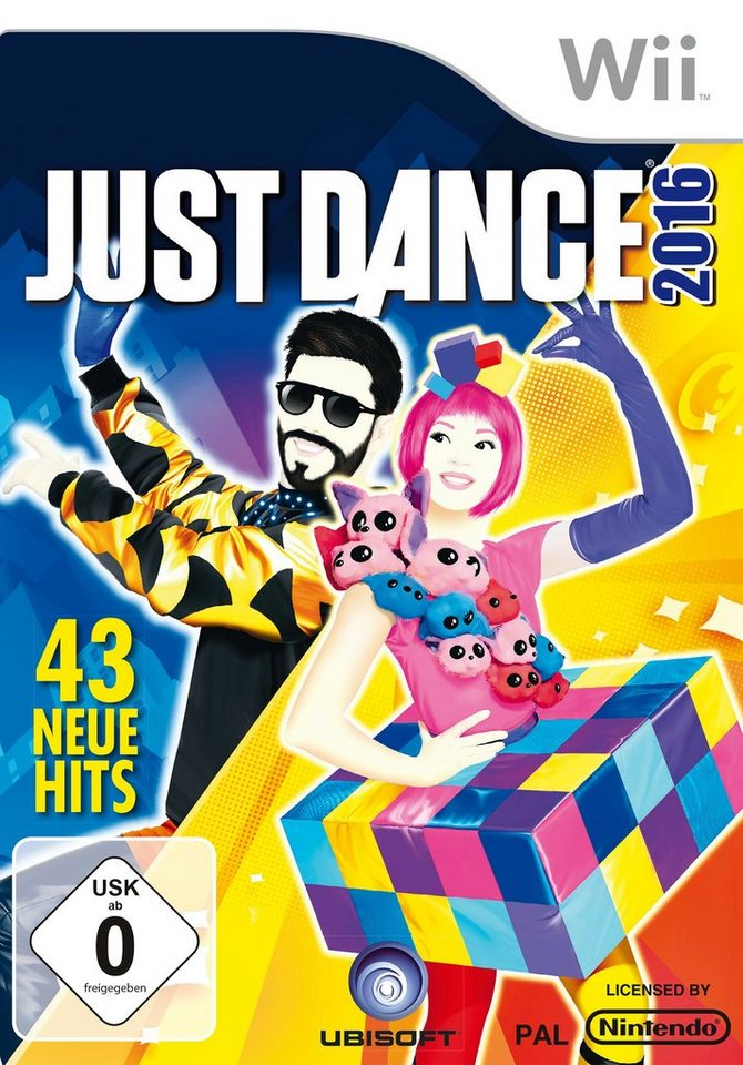 UBISOFT Software Pyramide - Nintendo Wii Spiel »Just Dance 2016«