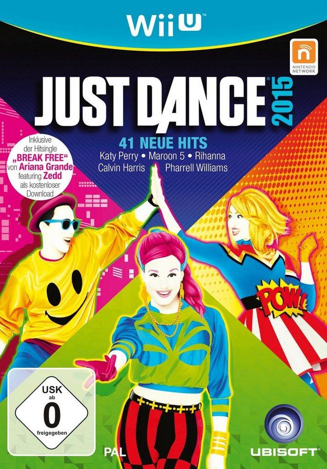 UBISOFT Software Pyramide - Nintendo WiiU Spiel »Just Dance 2015«