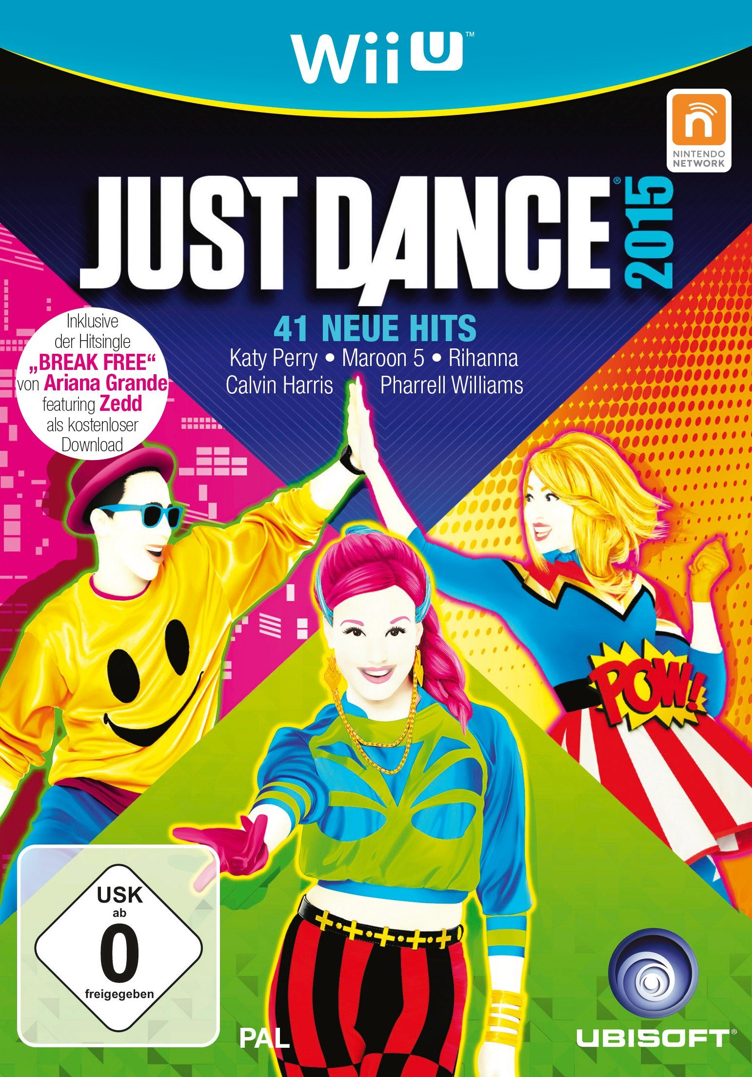UBISOFT Software Pyramide - Nintendo WiiU Spiel »Just Dance 2015«