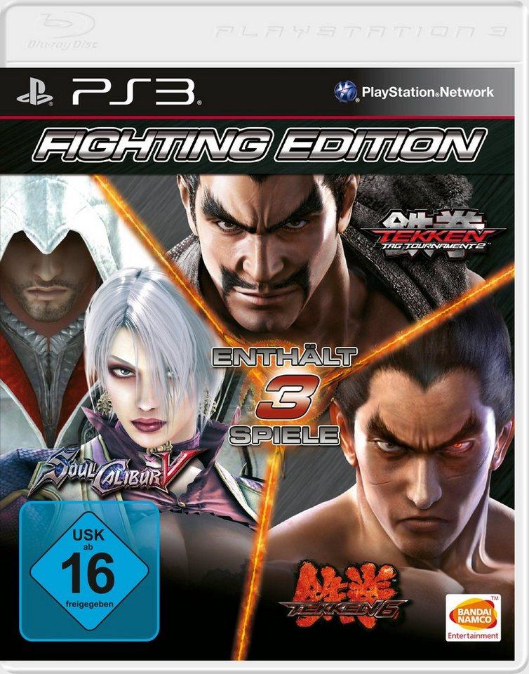 BANDAI NAMCO Software Pyramide - Playstation 3 Spiel »Fighting Edition«