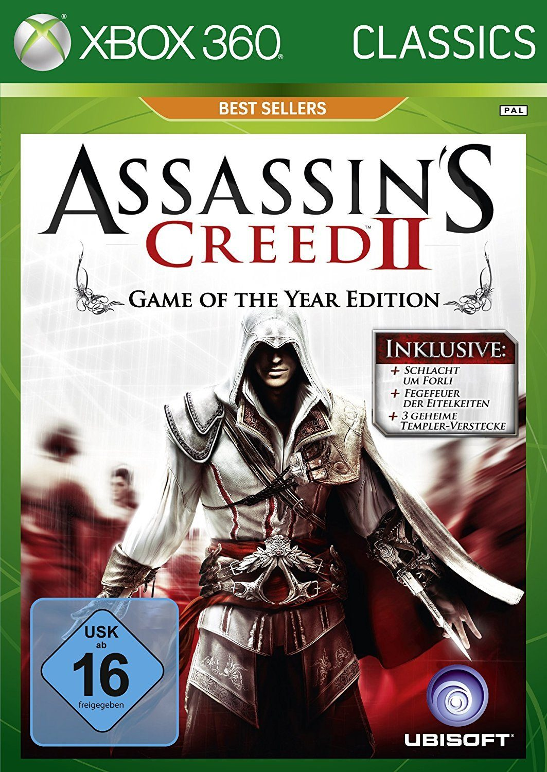 UBISOFT Software Pyramide - Xbox 360 Spiel »Assassin's Creed 2«