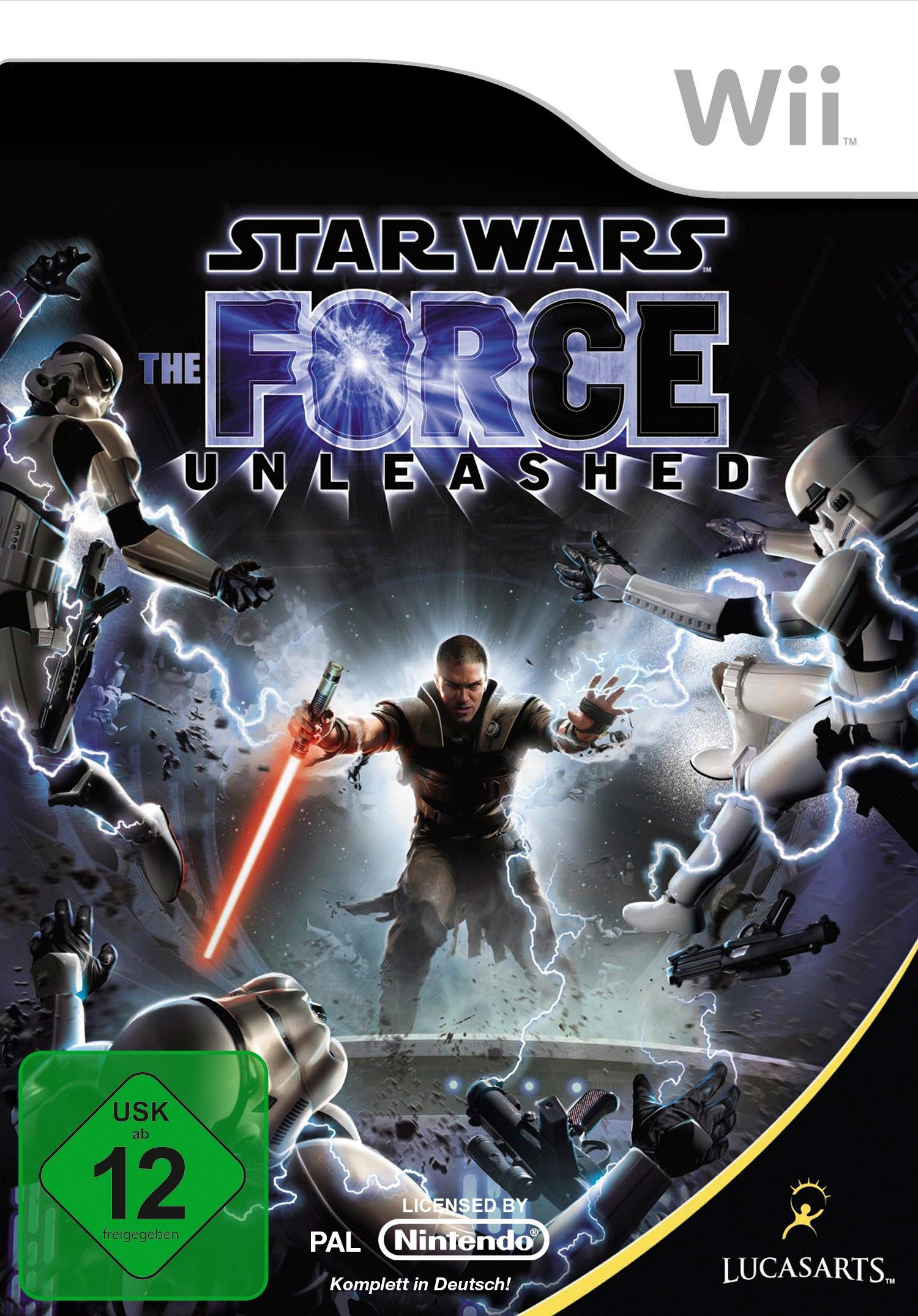 DISNEY Software Pyramide - Nintendo Wii Spiel »Star Wars: The Force Unleashed«