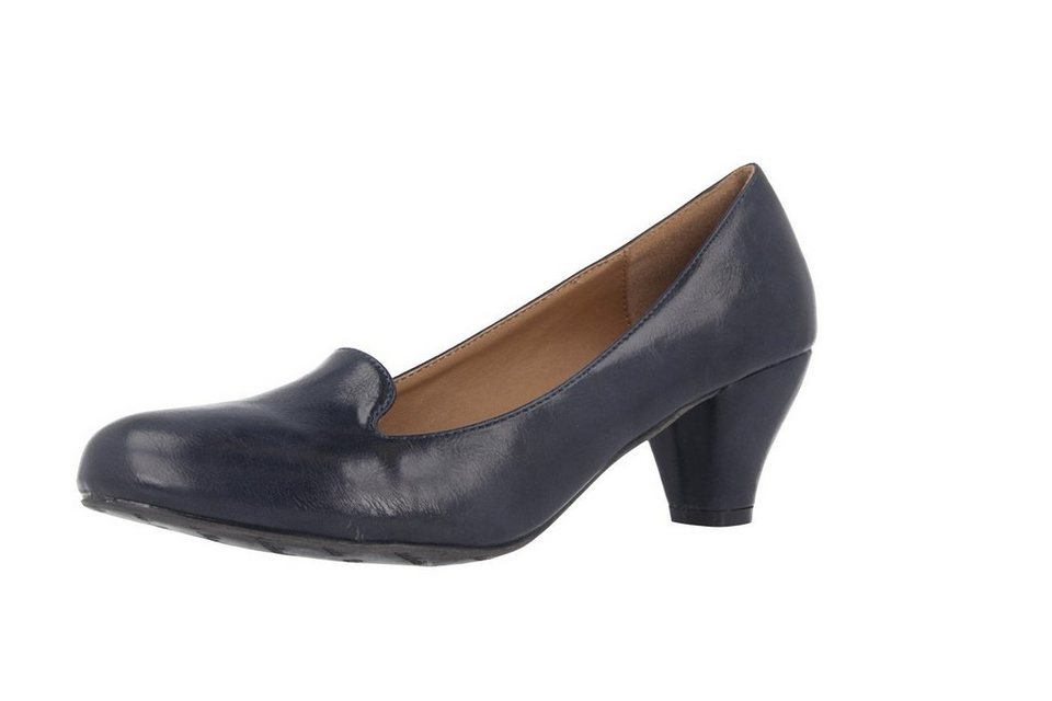 Andres Machado Pumps in Blau