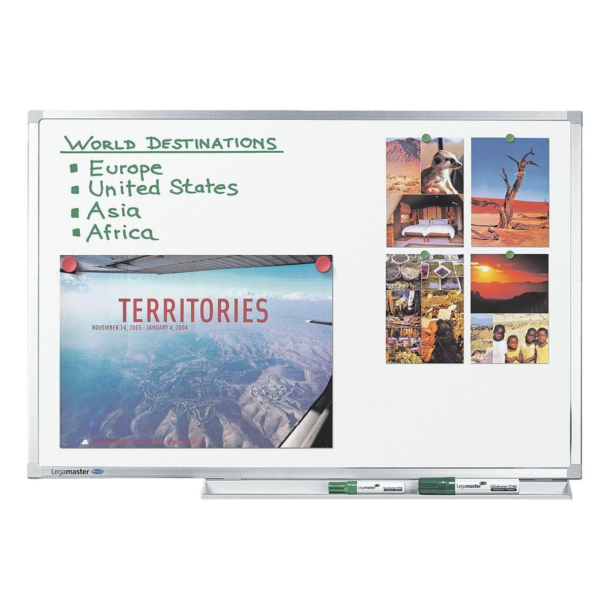 Legamaster Whiteboard emailliert, ultraleicht, 120 x 120 cm