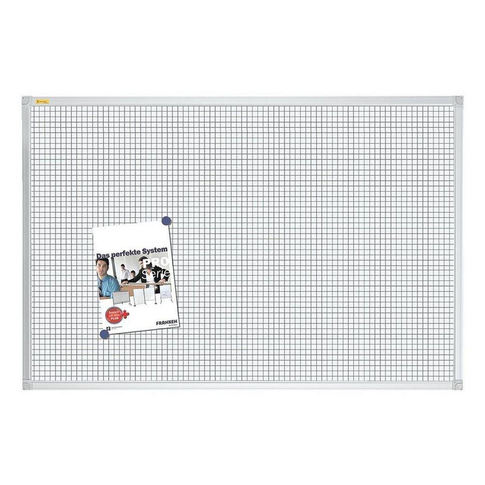 franken whiteboard lackiert 120 x 90 cm raster rt3803. Black Bedroom Furniture Sets. Home Design Ideas
