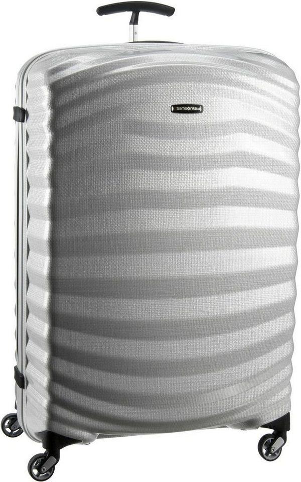 Samsonite Lite-Shock Spinner 81/30 in Off White