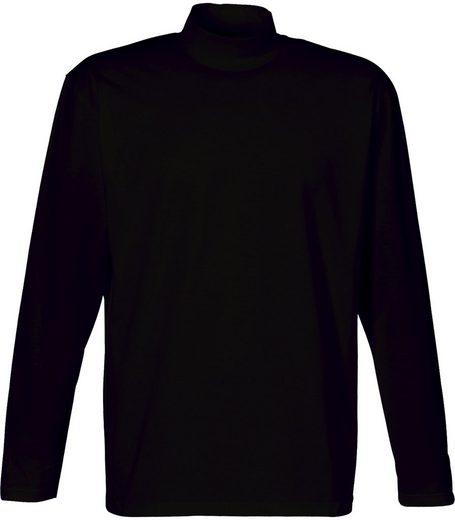 TRIGEMA Langarm Shirt mit Stehkragen