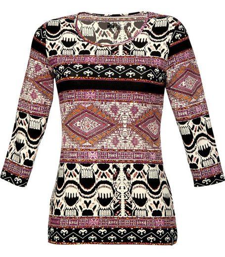 TRIGEMA Shirt im Ethno-Stil