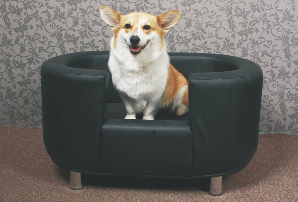 HTI-Line Hundesofa »Willy« 1-teilig in Anthrazit