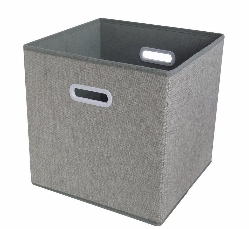 HTI-Line Aufbewahrungsbox »Paloma« in Grau