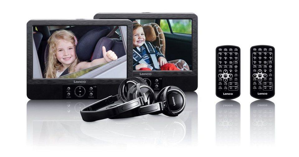 Lenco Tragbares DVD-Player Set mit Halterung per Spange »DVP-939« in schwarz