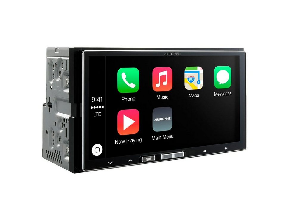 ALPINE 2-DIN Digital-Media-Receiver »iLX-700« in schwarz