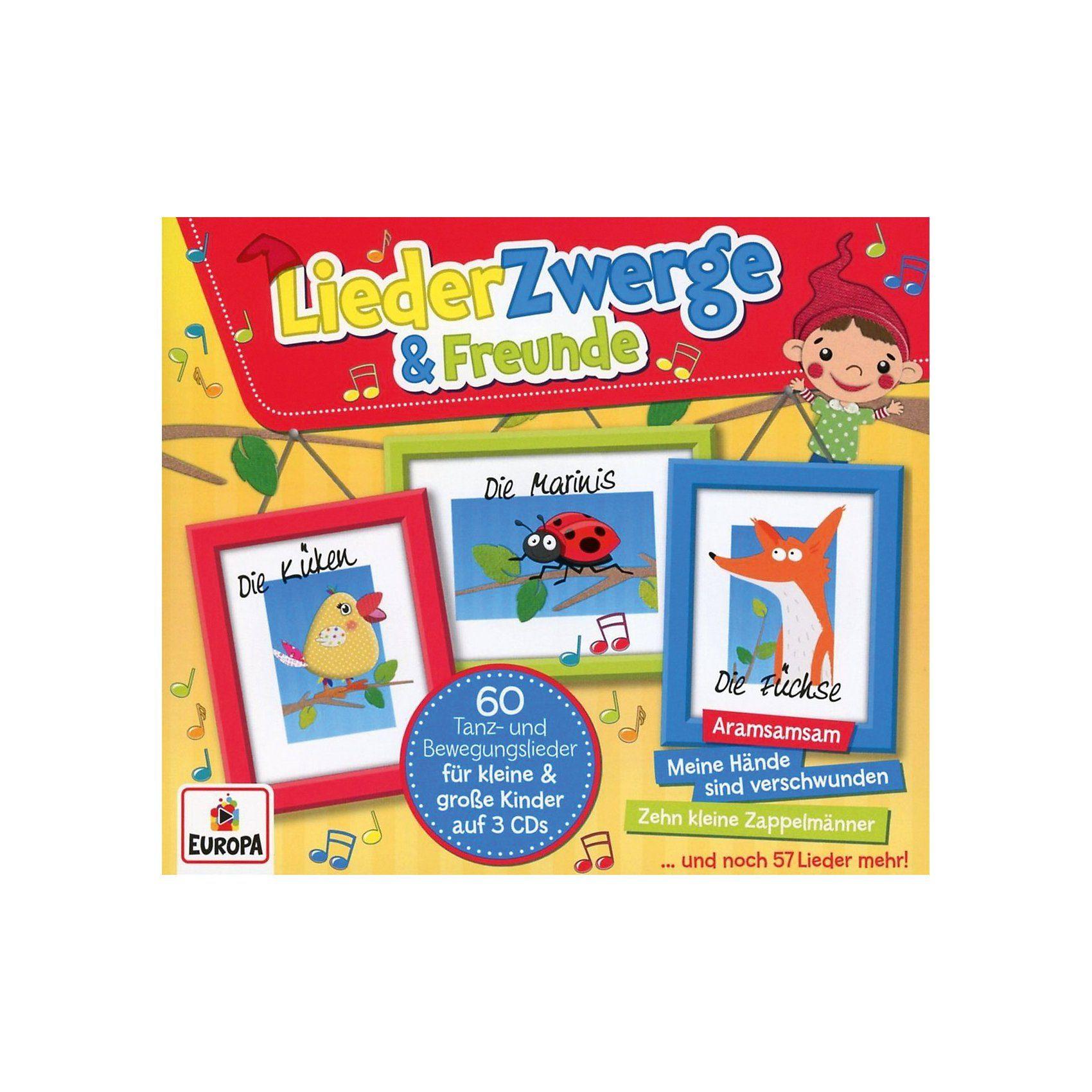 SONY BMG MUSIC CD Liederzwerge und Freunde (3-CD Box)