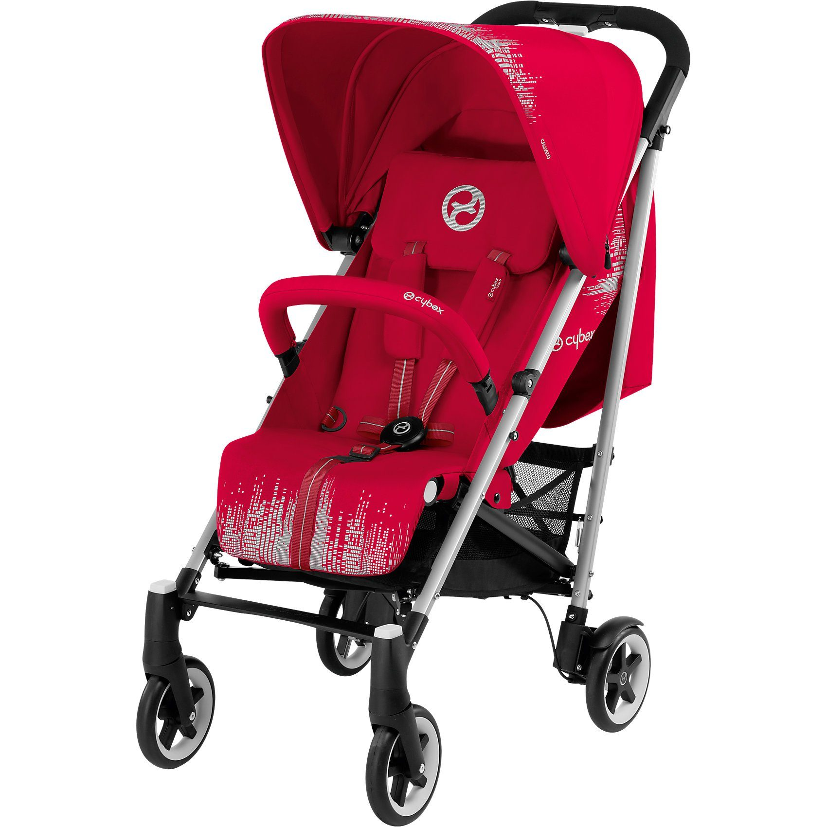 Cybex Buggy Callisto B, Gold-Line, Infra Red-Red, 2018