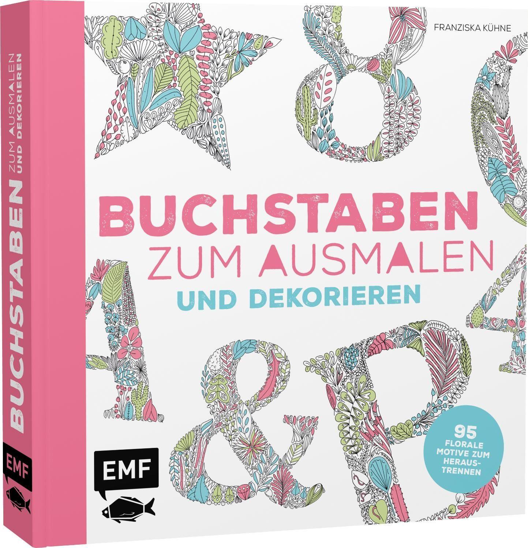"""EMF Buch """"Buchstaben zum Ausmalen und Dekorieren"""""""