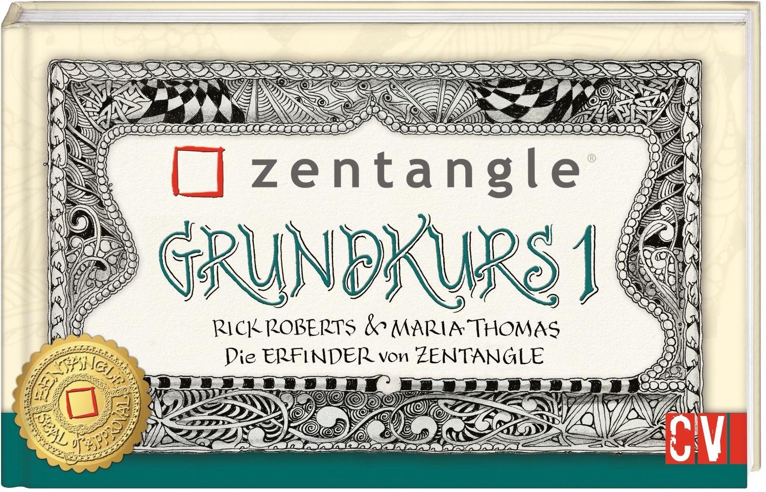 "Buch ""Zentangle Grundkurs 1"""