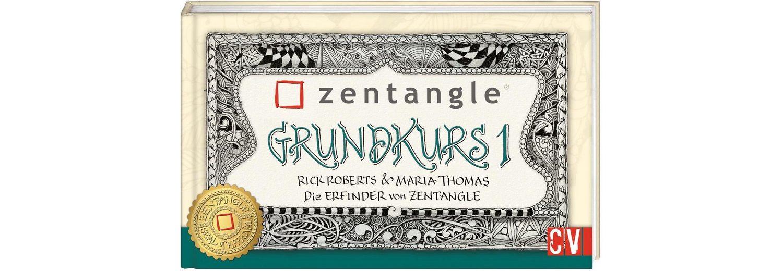 """Buch """"Zentangle Grundkurs 1"""""""