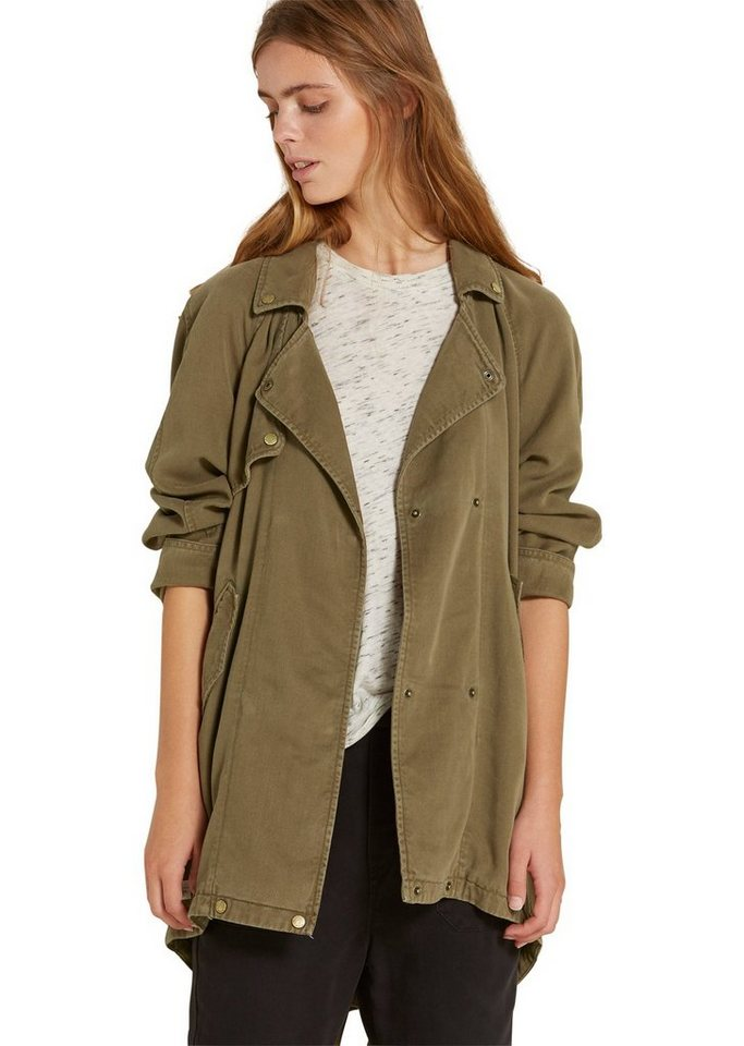 Marc O'Polo DENIM Mantel in 481 washed olive
