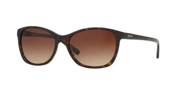 DKNY Damen Sonnenbrille » DY4093«, braun, 355613 - braun/braun