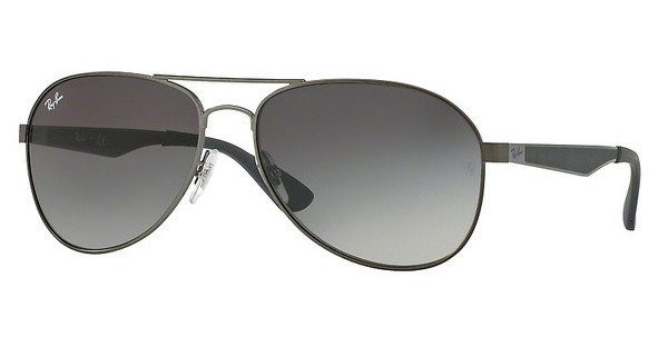 RAY BAN RAY-BAN Herren Sonnenbrille » RB3549«, schwarz, 002/T3 - schwarz/grau