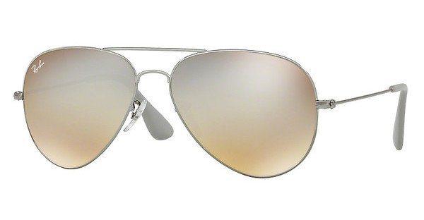 RAY-BAN Sonnenbrille » RB3558« in 004/B8 - grau/grau