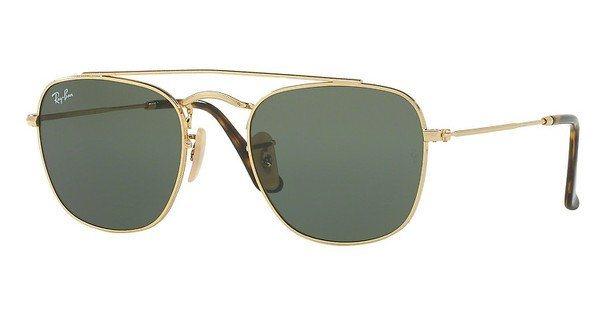 RAY-BAN Herren Sonnenbrille » RB3557« in 001 - gold/grün