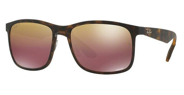 RAY-BAN Herren Sonnenbrille » RB4264« in 894/6B - braun/gold