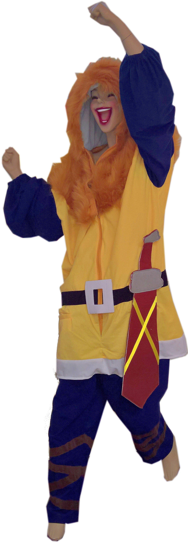 Heunec Karneval Kostüm, Größe M, »Kostüm Wikinger«