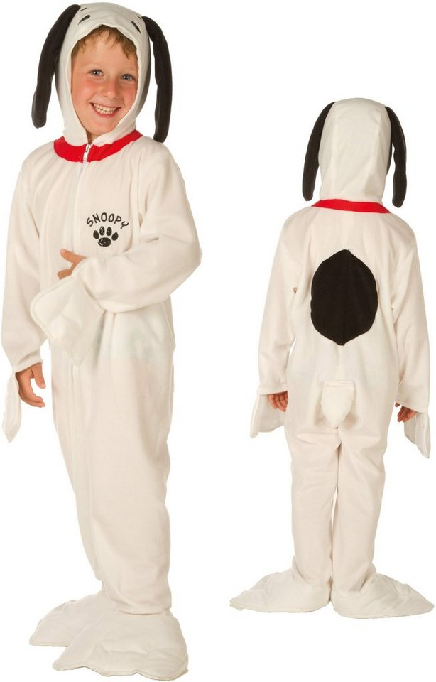 Heunec Karneval Kostüm für Kinder, »Kostüm Snoopy für Kinder« in weiß