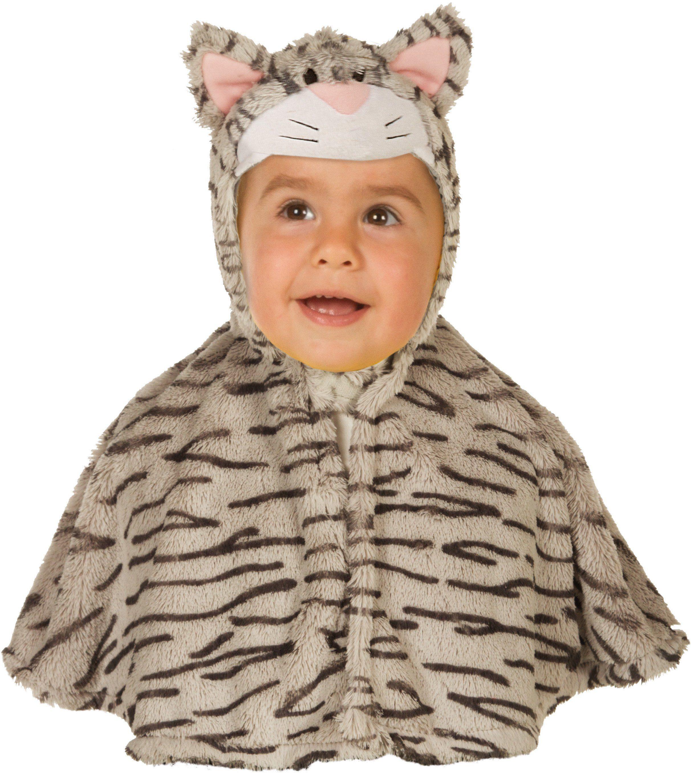 Heunec Karneval Cape für Kinder, Größe 86-110, »Kinder Cape Kätzchen«