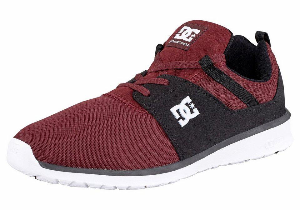 DC Shoes »Heathrow« Sneaker in rot-schwarz