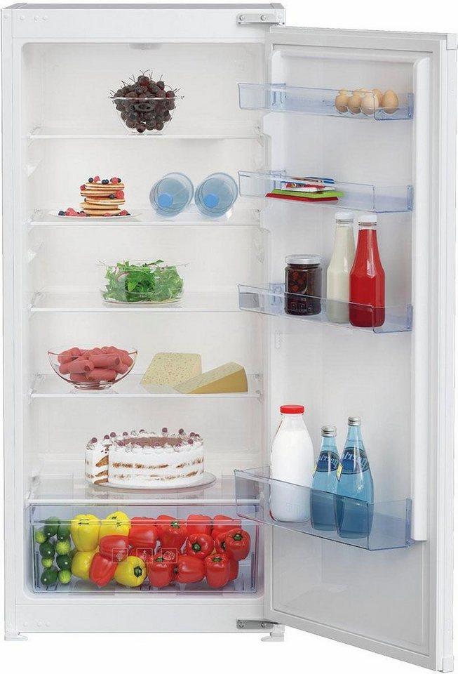 Beko integrierbarer Einbau-Kühlschrank BLSA210M3S, Energieklasse A++, 121,5 cm hoch in weiß