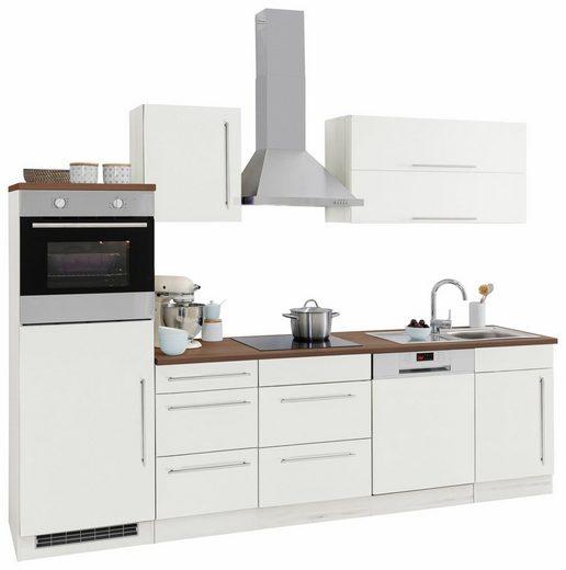 HELD MÖBEL Küchenzeile »Samos«, ohne E-Geräte, Breite 280 cm