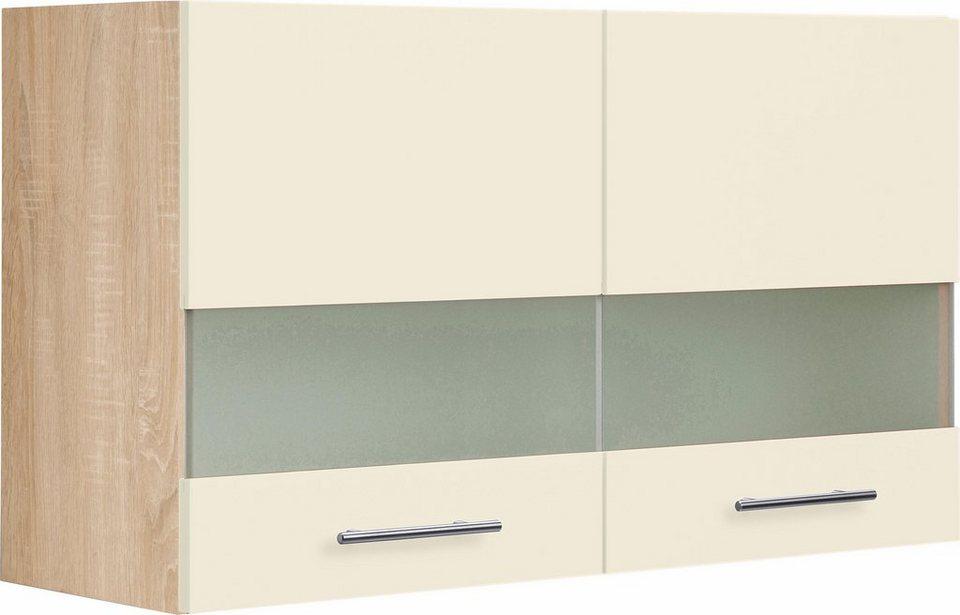 Optifit Glashängeschrank »Kalmar«, Breite 100 cm in creme