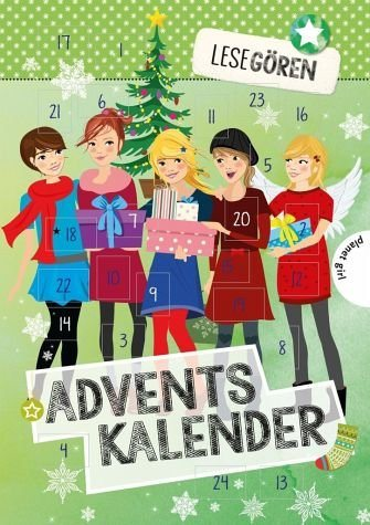 Broschiertes Buch »Lesegören: Adventskalender«