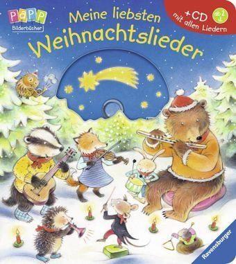 Buch mit Papp-Einband »Meine liebsten Weihnachtslieder«